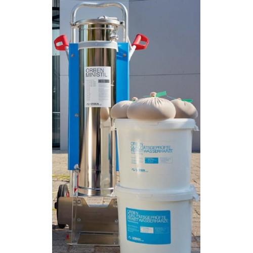 Mobile Wasserentmineralisierung